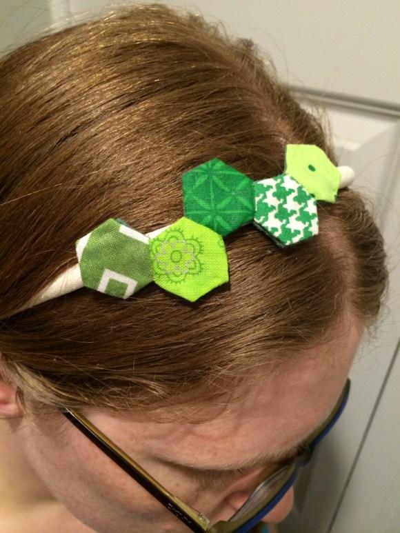 Hexagon Headband by Hugs are Fun