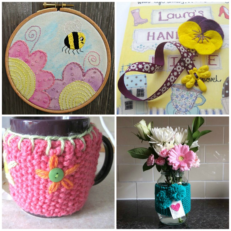 The Crafty Flower Tutorial Link Up