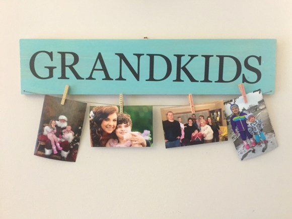 Grandkids Signs from Hugs are Fun
