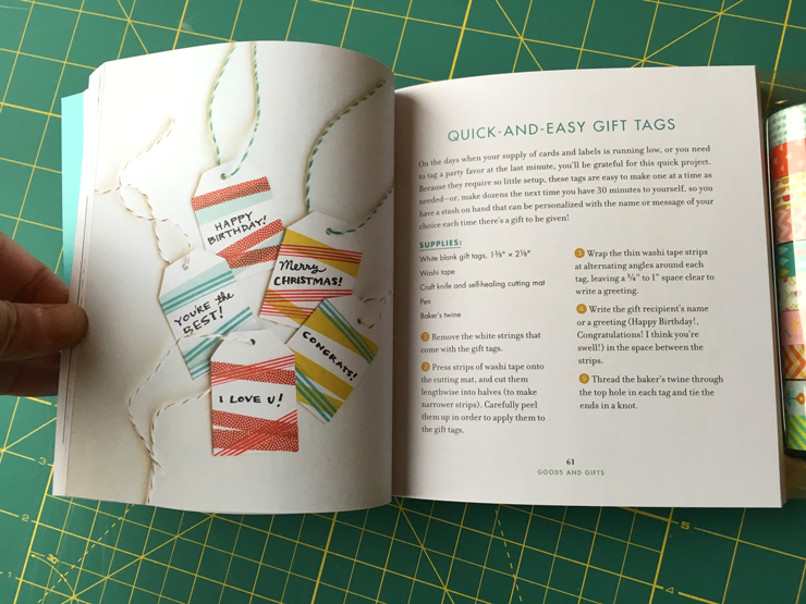 Book Review - Washi Tape Crafts from Hugs are Fun