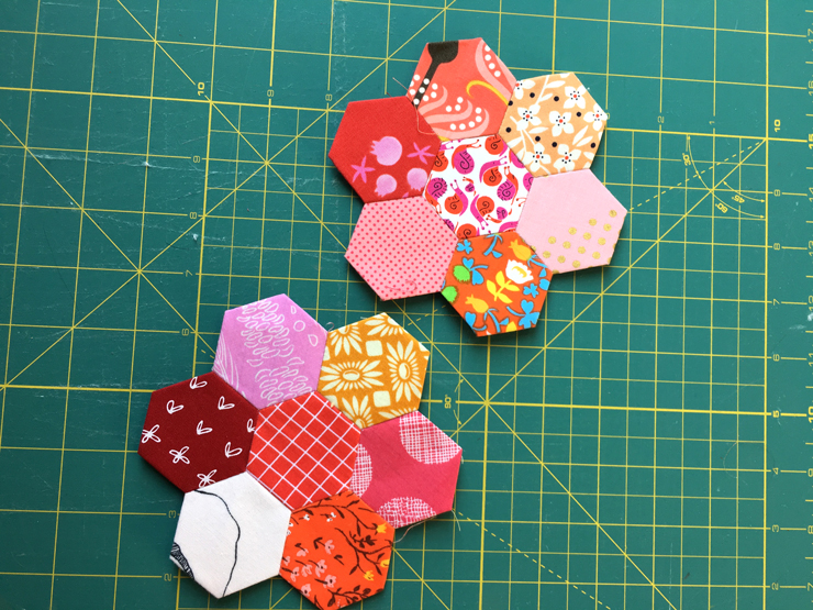 Project Starter's Anonymous - Another Hexie Quilt from Hugs are Fun