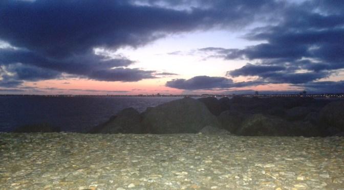Baie de La Baule vue du port de Pornichet !