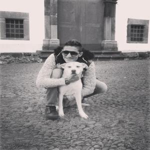 phot de Ricardo et sa chienne Maria !