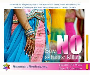 Say NO to Honor Killing