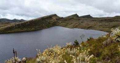 Foto 1, laguna de Chisacá