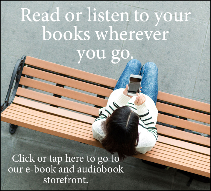 Click here for our e-book and audiobook store!