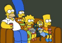 Simpson On Couch
