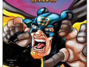 פלאפל-מן 3, קומיקס ישראלי