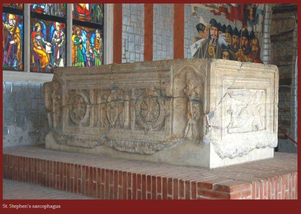 St stpehen's sarcophagus