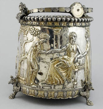 """One of the fourteen pieces of the """"family silver"""""""