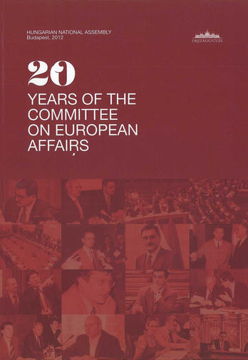 Publication of the Committee on European Affairs responsible for the nomination of  Péter Szentmihályi Szabó