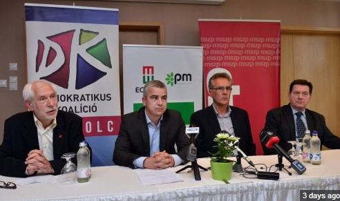 Albert Pásztor announces his candidacy to be mayor of Miskolc