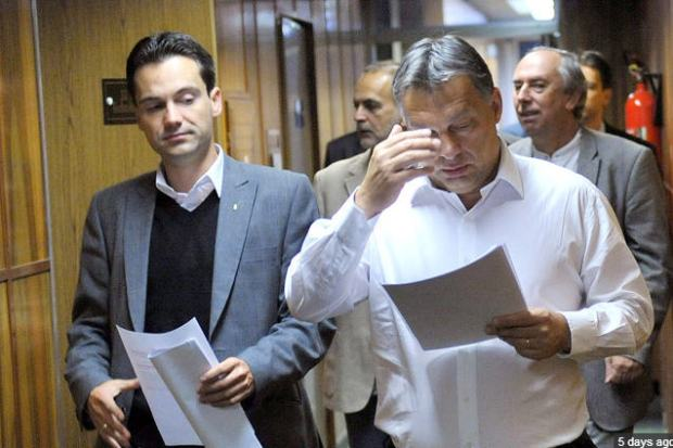 Bertalan Havasi is a constant companion of Viktor Orbán / Photo MTI
