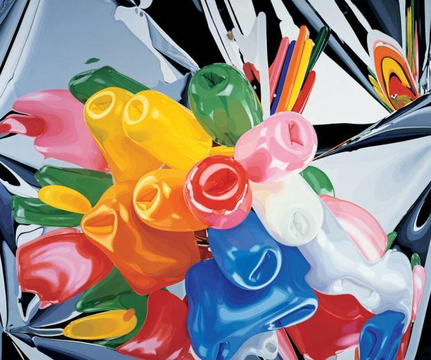 Jeff Koons: Tulips (1995-1998)