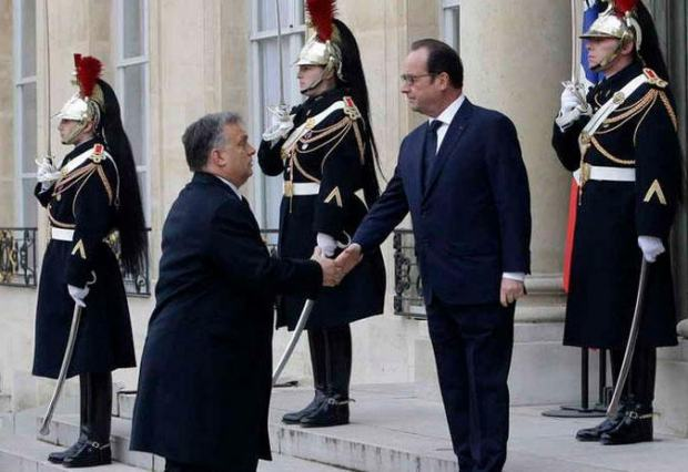 Hollande and Orban