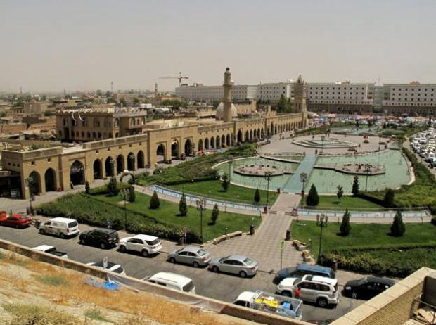 Erbil. This is where the Hungarians troops going