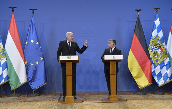 Seehofer and Orban2
