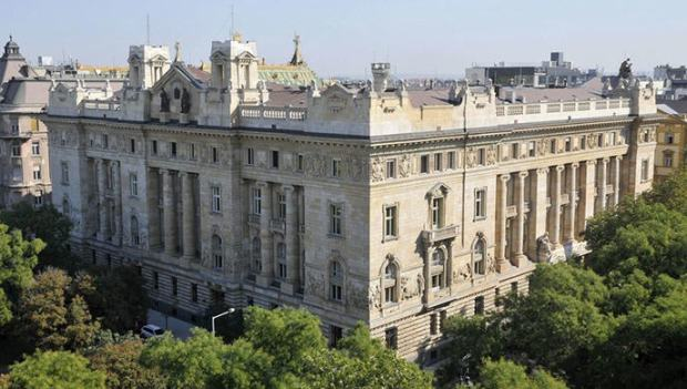 The building of the Hungarian National Bank