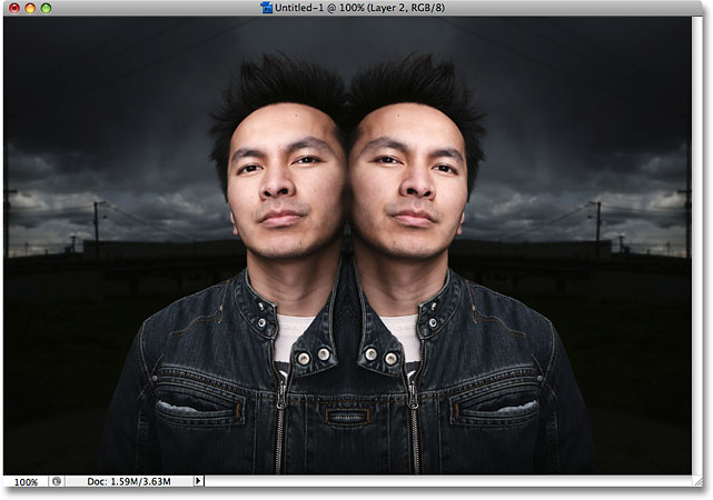 photoshop-mirror-image-effect