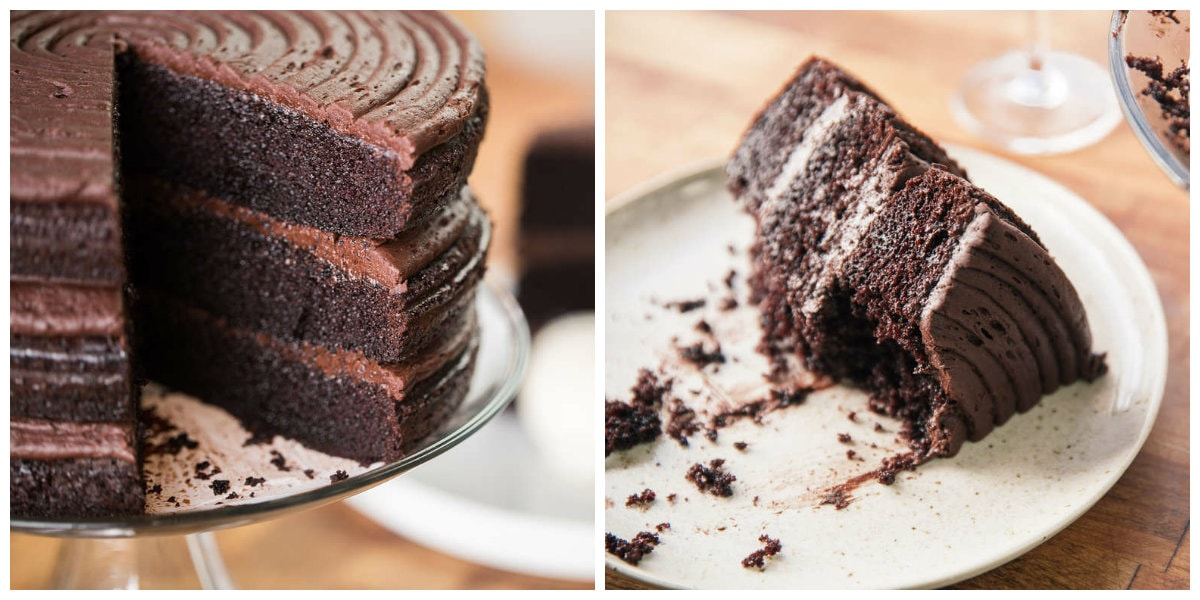 Ultimate Chocolate Cake By ChefSteps ~ Sexiest Chocolate Cake EVER
