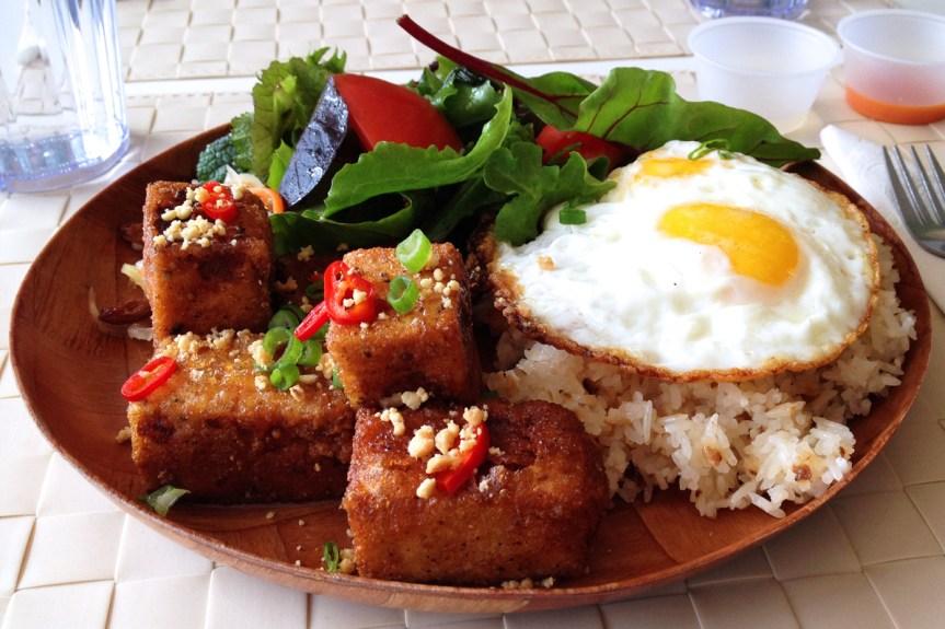 Crispy Tofu Silog,