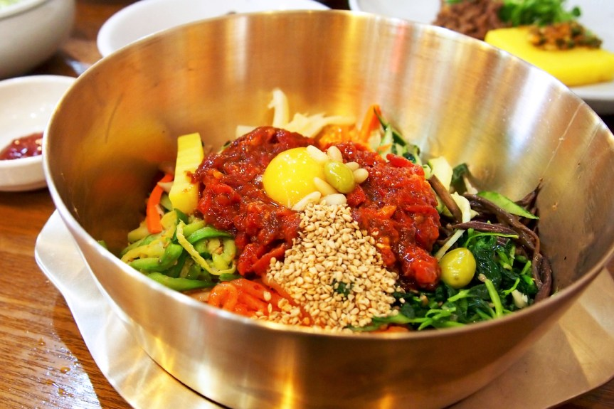 Where to eat raw beef bibimbap in Jeonju