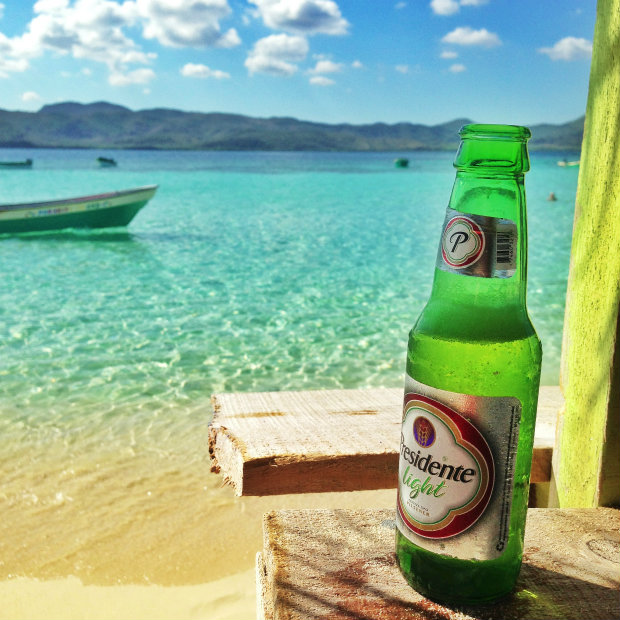 presidente-beer-cayo-arena-dominican-republic
