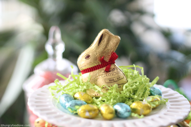 Lind Gold Bunny