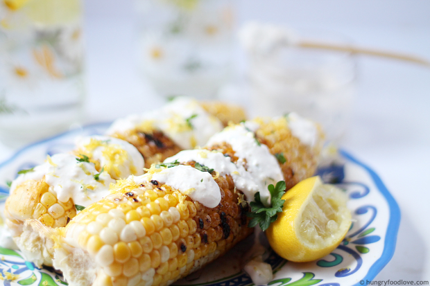 Grilled Corn or Mexican Street Corn (Elotes)