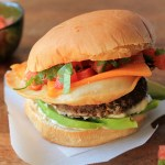 Ultimate Mexican Burger   |   hungryfoodlove.com
