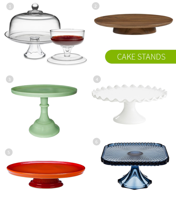 Most Gorgeous Cake Stands on the Web