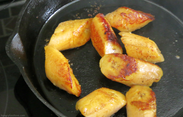 Teriyaki-Glazed Sweet Plantains with #KikkomanSabor