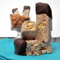 Roasted Almond Chocolate Nougat Candy Bar