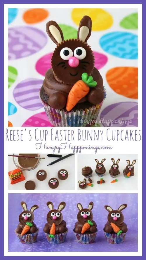 Sparkling No Easter Would Be Complete Without Some Chocolate Bunnies So I Craftedse Cup Easter Cup Easter Bunny Cupcakes Easter Bunny S Ny Easter Bunny S Simon