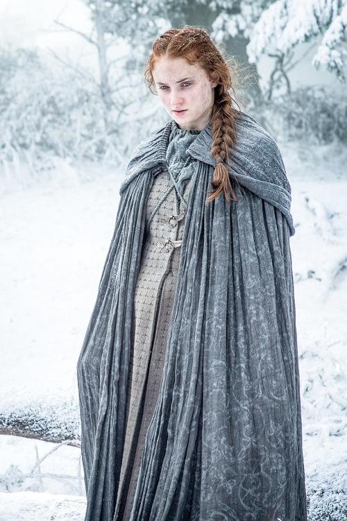 Sansa Stark Looks all Safe Season 6