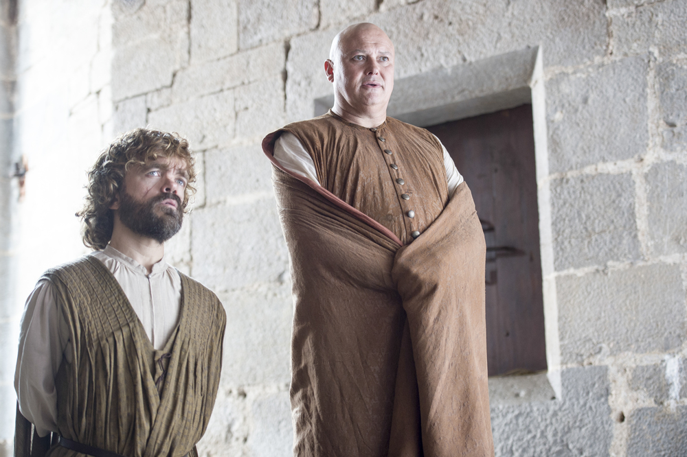 Tyrion Lannister and  Varys Season 6
