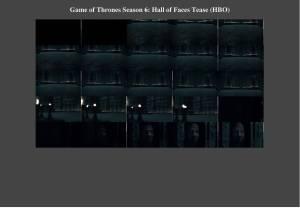 Hall of Faces Tease Season 6