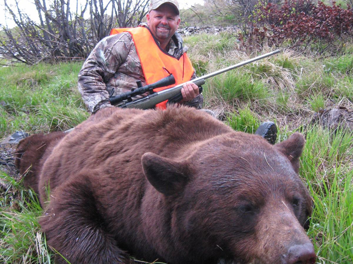Bear hunt Montana