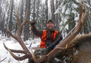Rifle Elk hunts montana (1)