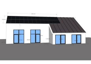 solceller på taget