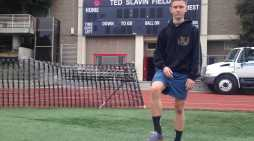 Boden Stringer '18 juggles soccer and school
