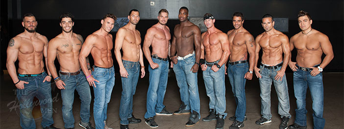 The Hollywood Men attend Magic Mike XXL advance screening