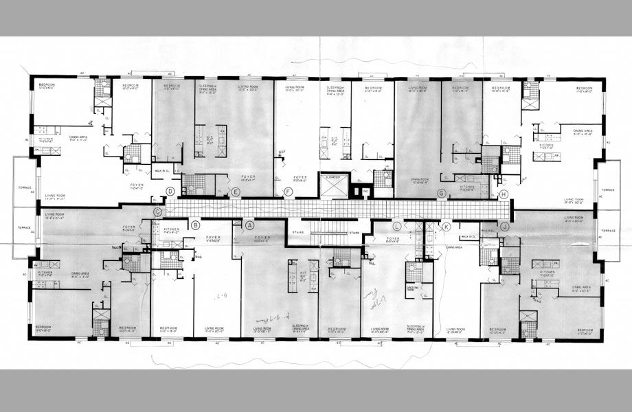 Floor Plan For Staten Island Apartments At The Hylan