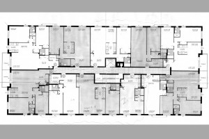 Floor Plan for Staten Island apartments at the Hylan Dartmouth.