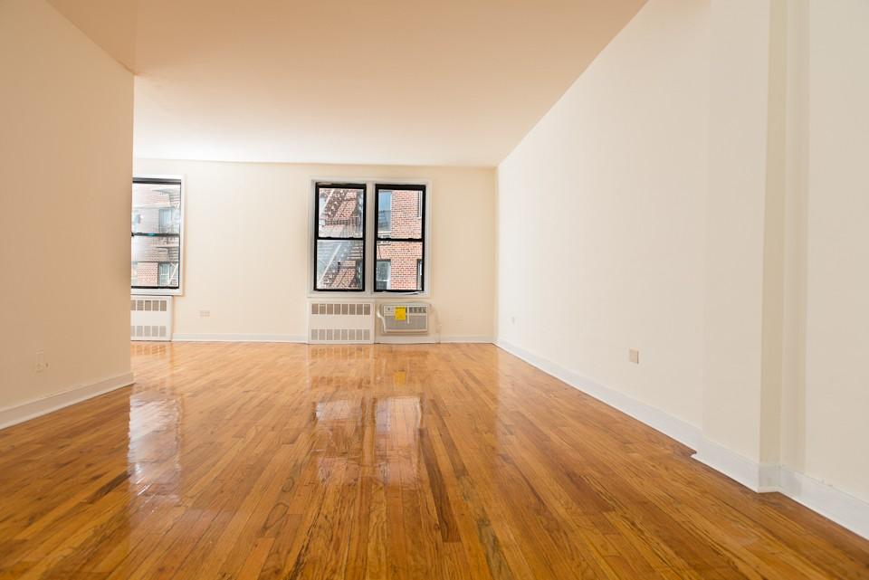 freshly refinished hardwood floors in Hylan Dartmouth Staten Island Apartments