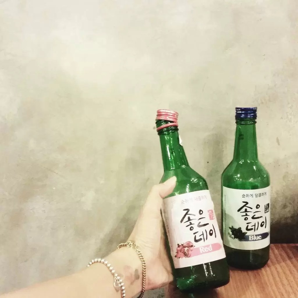 Found a place in Malaysia that sells flavoured soju! Itshellip