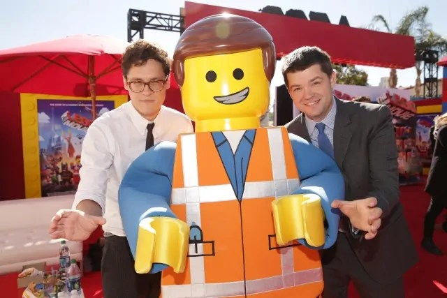 """The LEGO Movie"" directors Chris Miller & Phil Lord at ""The LEGO Movie"" premiere"