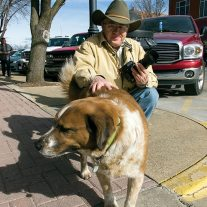 Leland makes friends with an amiable dog who had a leisurely schedule. Branson advertises and delivers a slower pace.