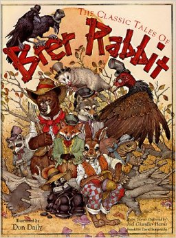 Anthropomorphism has been popular since Aesop's time as a way to make human traits universal and easier to digest. Stories like the Uncle Remus stories have further this with racial and ethnic identities.