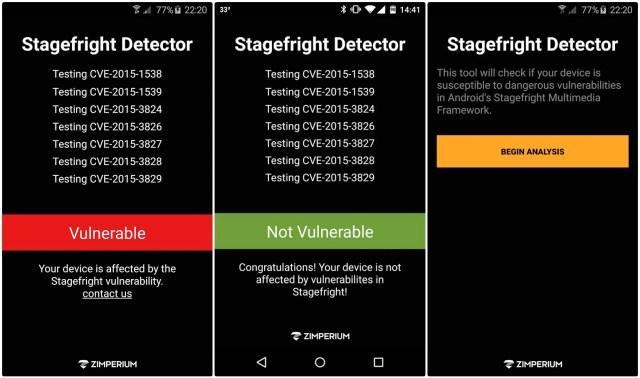 Stagefright Detector App
